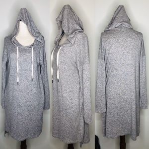 Potter's Pot Gray Hoodie Dress